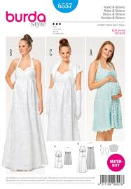 Maternity Dress Patterns Impressive Burda 48 Misses' Maternity Dress