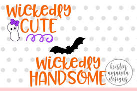 Download 10 halloween svg files for free. Free Wickedly Cute Wickedly Handsome Halloween Svg Dxf Eps Png Cut File Cricut Silhouette Svg Free Svg Files Silhoeutte