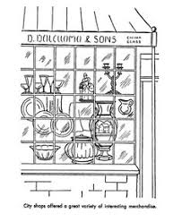 Small Picture Early American Trades Coloring Page US states Pinterest