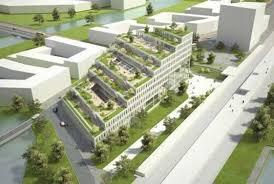 green office building. Apartment:Green Architecture Office Buildings Building Amazing In Groningen Green 0
