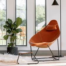 Modern leather armchair Modern Metal Modern Leather Armchair Abrazo Touch Of Modern Modern Leather Armchair Abrazo Cuero Design Touch Of Modern