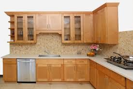 elegant espresso maple shaker kithen cabinets features l shape quartz countertops