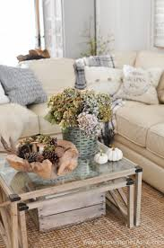 Celebrate autumn with a coffee table centerpiece inspired by the harv. 35 Fall Living Room Decorating Ideas