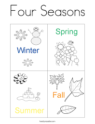Four Seasons Worksheets Worksheets for all | Download and Share ...