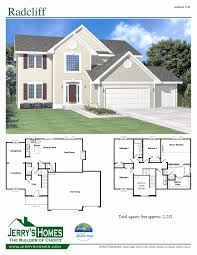 2 Storey House Plans With 3 Car Garage Luxury 2 Story Floor Plans Elegant 4  Bedroom 2 Story House Plans