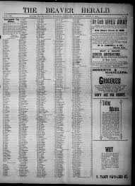 The Beaver Herald. (Beaver, Okla. Terr.), Vol. 19, No. 39, Ed. 1, Thursday,  March 15, 1906 - Page 1 of 4 - The Gateway to Oklahoma History
