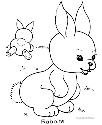 Small Picture Preschool Easter Coloring Pages