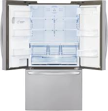 lg refrigerator with ice maker. refrigerator from lg lfxs29626s - interior view lg with ice maker