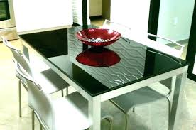 glass top dining table cover for home depot frosted with silver metal finish glass table tops top creative of round dining frosted