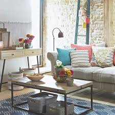 modern furniture style. Exposed Brick Wall Modern Country Style Ideas SAH July 17 P53 David Brittain Furniture