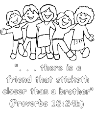 Small Picture Free Coloring Pages Friendship Coloring Home