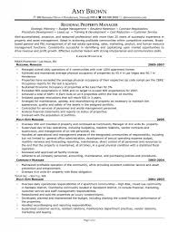 Estate Caretaker Sample Resume Assistant Property Manager Resume Template Resume Builder 1