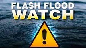 Flash flood watch followed by winter ...