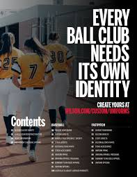 Demarini Apparel Size Chart 2017 Wilson Baseball Uniform Catalog Pages 1 50 Text