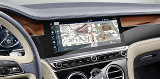 new bentley 2018. unique new bentleyu0027s new infotainment unit sits on a threesided rotating display  which starts with no screen when the vehicle is off to give illusion of  inside bentley 2018