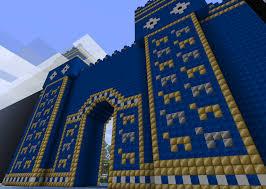 minecraft gate. Ishtar Gate - Minecraft By Minja122