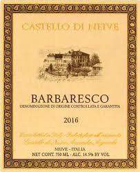 Castello Di Neive 2016 Barbaresco Rating And Review Wine