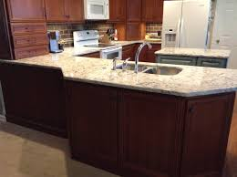 Kitchen Cabinets Knoxville Tn Homecrest Madison Cherry Cinnamon Cocoa Perimeter And Kemper