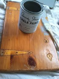 Painting Knotty Pine Cabinets Annie Sloan Chalk Paint In French Linen Over Knotty Pine Kitchen