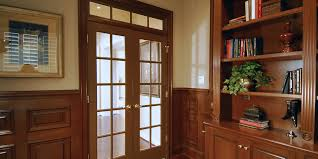 home office library. Home Office Library Custom Stained