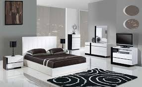 white king bedroom sets. Bedroom: White King Bedroom Set New Trinity 5pcs Size Modern Platform Sets E