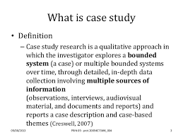 Case Study Definition of Case Study by Merriam Webster