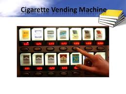 Individual Cigarette Vending Machine Extraordinary Vending Machine Controller Using VHDL