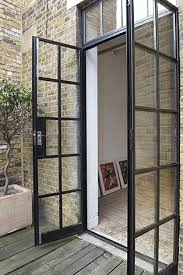black french doors patio. Brilliant Patio Double Metal French Doors From Kitchen To Garden U2022 Via Bodie And Fou Intended Black Doors Patio N
