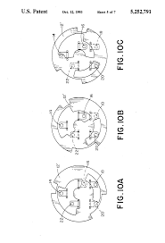 brevet us5252791 ignition switch google brevets patent drawing