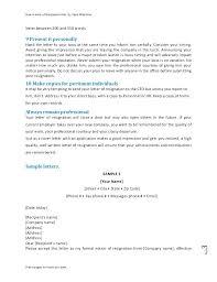 Best Resignation Letter Manager Resignation Letter Example ...