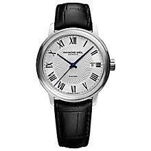 raymond weil watches ernest jones raymond weil maestro men s stainless steel strap watch product number 4109953