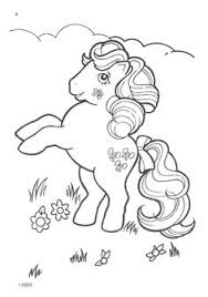Small Picture My Little Pony G1 Coloring Pages Pony Digi stamps and Stamps