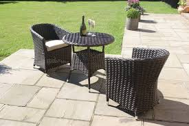 Small Round Rattan Table Plastic Bistro Set Home And Furnitures Reference