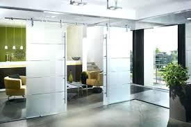 sliding glass door tint sliding glass office doors sliding interior door with tint stripes separating living