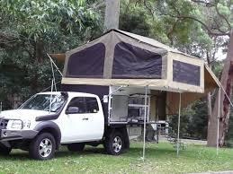 image of diy truck camper pop up