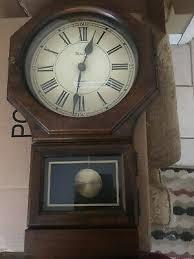 vintage bulova quartz pendulum wall