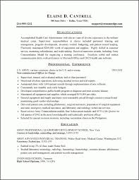 healthcare resume builder resume example 2 army to health care with healthcare resume builder 8211 resume career overview example