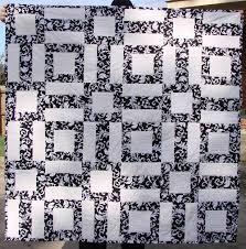 Easy Black and White Quilt Pattern Archives - FabricMomFabricMom & DSC08269 Adamdwight.com