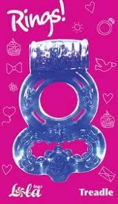 Купить <b>Эрекционное кольцо Rings Treadle</b> purple за 410 руб ...
