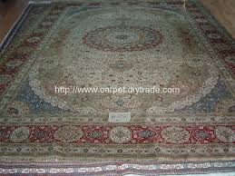 name handmade pure 100 ablong silk carpets quality knot 600 line size 14x20 ft cm cm unit usd piece diagram number id 4000892