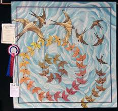 Punch with Judy's Blog: Craft & Quilt Fair Brisbane, Best of Show 2013 & Pam said