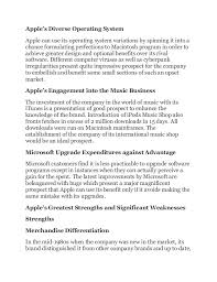 apple company external and internal environments essay opportunities 5