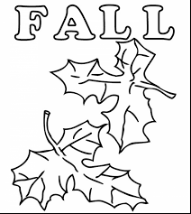 Small Picture Fall Leaves Coloring Pages For Kindergarten Coloring Pages Ideas