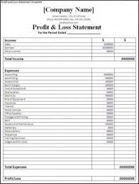 profit and loss form simple 10 best profit and loss statement images profit loss
