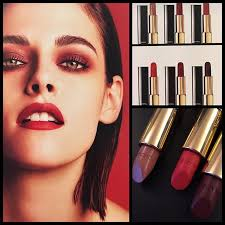 chanel amazing first look of kristen stewart s fall 2016 le rouge collection n1
