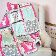 Dream Catcher Crib Bedding New Baby Girl Crib Bedding Woodland Crib Set Hunting Crib Set Aqua