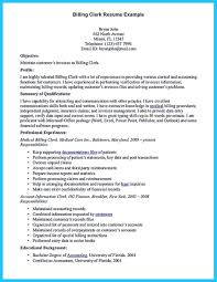 Billing Specialist Resume Sample Exciting Billing Specialist Resume That Brings The Job To You 1