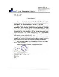 Letter Of Recommendation For Project Manager Reference Letter Project Manager Denuosource Ltd