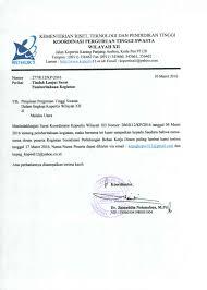 format surat pemberitahuan