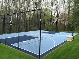 outdoor basketball court flooring outside basketball court ideas backyard basketball court landscape traditional with designs
